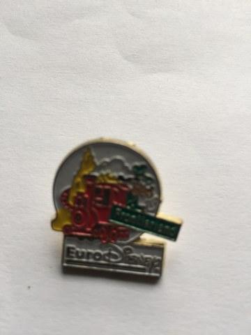 Pin Euro Disney Goofy Frontierland