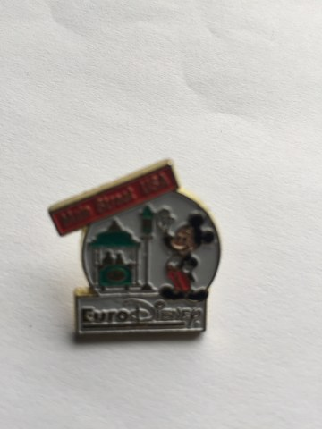 Pin Euro Disney Mickey Mouse Main Street USA