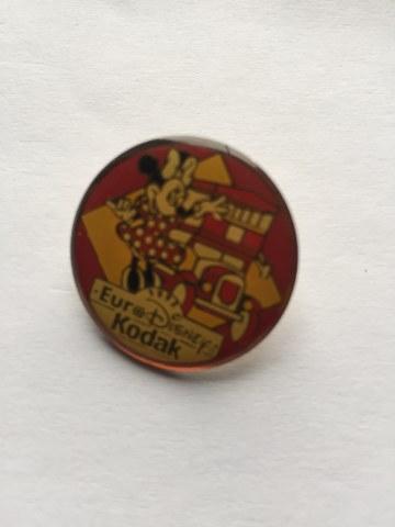 Pin Minnie Mouse Euro Disney Kodak