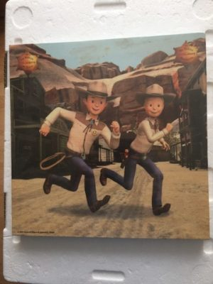 Canvas S&W rennend in Texas rakkers