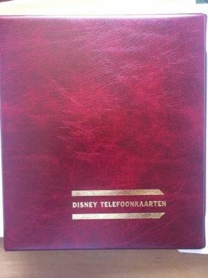 Disney Telefoonkaarten map met 7 stuks