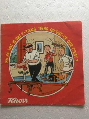 Knorr single Ra Ra wat is dat met boekje