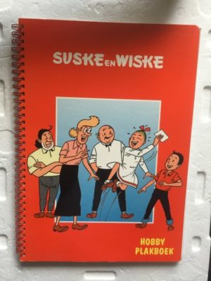 Hobby Plakboek met allerlei info ingeplakt