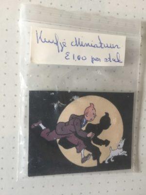Mini kaartje Kuifje