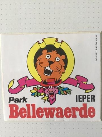 Sticker Bellewaerde