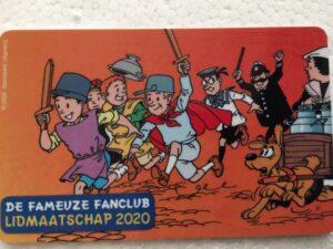 Ledenpas fanclub 2020