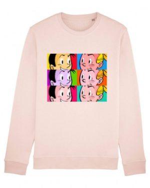 Roze sweater Marhol
