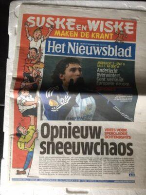 Courant Het Nieuwsblad 65 jaar S&W