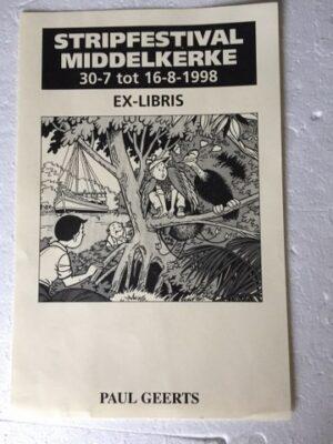 Ex libris Middelkerke 1998