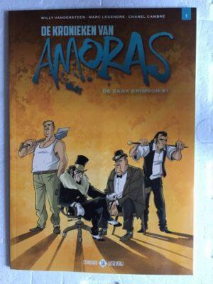De kronieken van Amoras De zaak Krimson 1