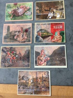 Set a 7 kaarten Amoras Lambik