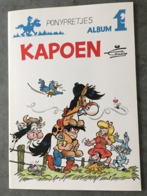 Kapoen Album 1 Ponyprentjes Eric De Rop