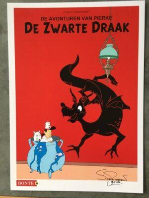 Ex- Libris De avonturen van Pierke De zwarte draak