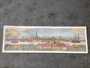 EX-Libris De skyline van Antwerpen