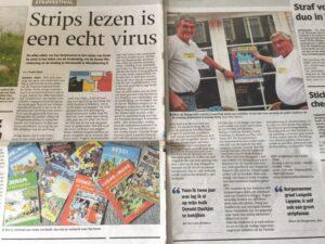 Strips lezen is een echte virus PZC 2014