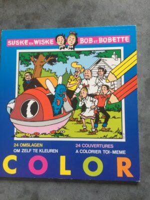 Color 24 omslagen om zelf te kleuren