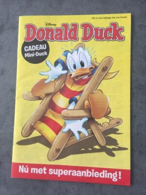 Donald Duck boekje en courant