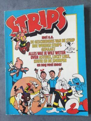 Strips met o.a.De geschiedenis van de strip
